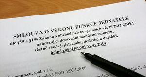 У Вас есть вид на жительство в Чехии для директора чешской фирмы? Без составления нового договора о вознаграждении, ВНЖ в Чехии у Вас скоро могут отобрать