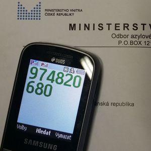 По телефону 974 820 680 без проблем теперь можно дозвониться в ОАМП МВД Чехии