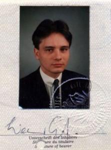 Паспорт Австрии: 1987 год, который так и не был продлен