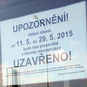 В мае столичные ОАМП МВД Чехии ждёт глобальная реконструкция
