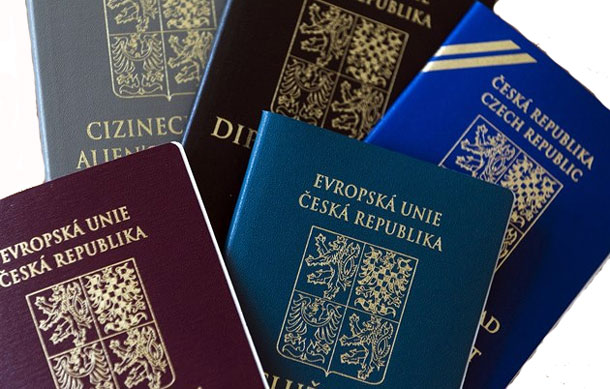Чешский паспорт признан позволяет въехать без визы в 167-м стран мира