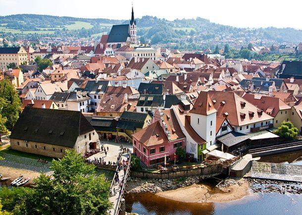 Чешский Крумлов в 1992 году внесён в список всемирного наследия ЮНЕСКО