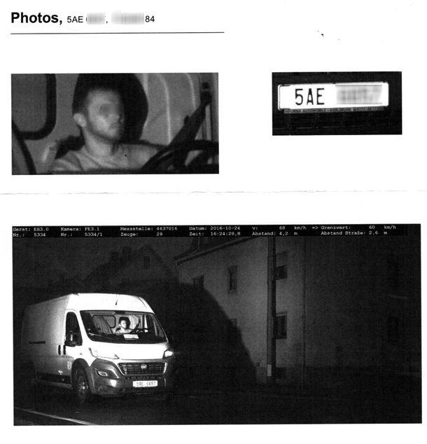 Отвертеться уже не получится: на фотографиях - снимки машины, номера и водителя