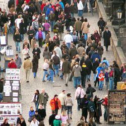 В случае отмена виз для граждан России, в Прагу бы приехало более двух миллионов российских туристов